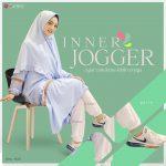 Aurany Inner Jogger Putih - Distributor Rok Celana Muslimah