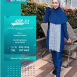 Baju Renang Alnita ABR 03 Navy - Distributor Baju Renang Muslim