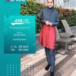 Baju Renang Alnita ABR 02 Maroon - Distributor Baju Renang Muslim