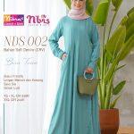 Gamis Nibras NSS 02 Lilac - Agen Gamis Syari Branded