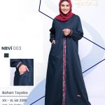 Gamis Nibras NB A25 - Distributor Gamis Syari Branded